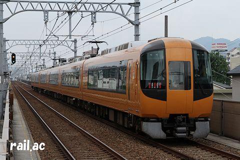 阪神三宮発近鉄特急車両による貸切列車