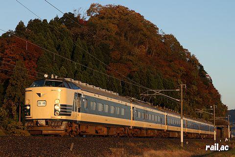 JR東日本583系による団体臨時列車