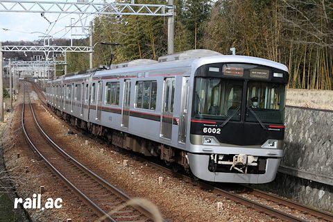 中学生からみた「北区の魅力」ショートムービー列車(6002F)