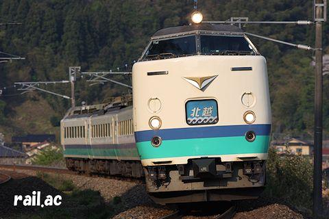 JR東日本485系T14編成 北越