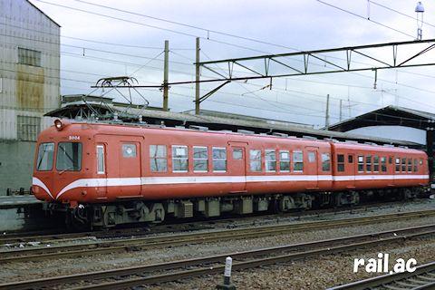 岳南鉄道5000系 赤ガエル