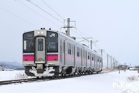 津軽線を行くJR東日本701系