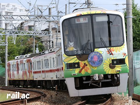 納涼恐怖体験列車5002F