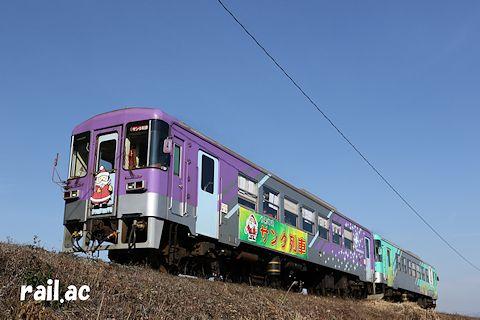 北条鉄道サンタ列車