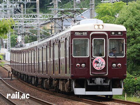 阪神競馬場宝塚記念2017年ヘッドマーク7006×6R