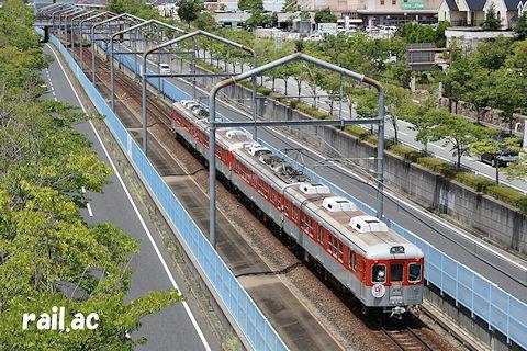 神戸電鉄90周年記念メモリアルトレイン第2弾1360F