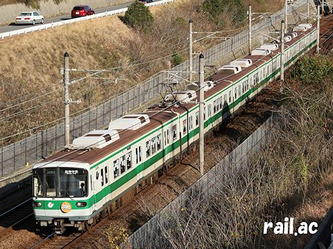 神戸市営地下鉄 西神・山手線 クリスマスデコレーション列車 3124F